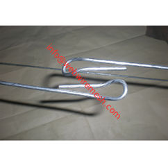 Zimbabwe 3.89mm Galvanized High Tensile Steel Wire Quick Link Cotton Bale Ties