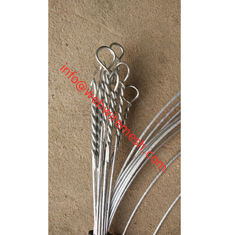 China 11Gauge X 18ft High Quality Electro Galvanized Single Loop Tie Wire factory