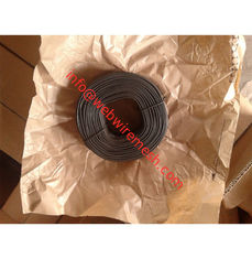 China Australia Market 1.57mm x 1.42kgs Coil Soft Black Annealed Tie Wire factory