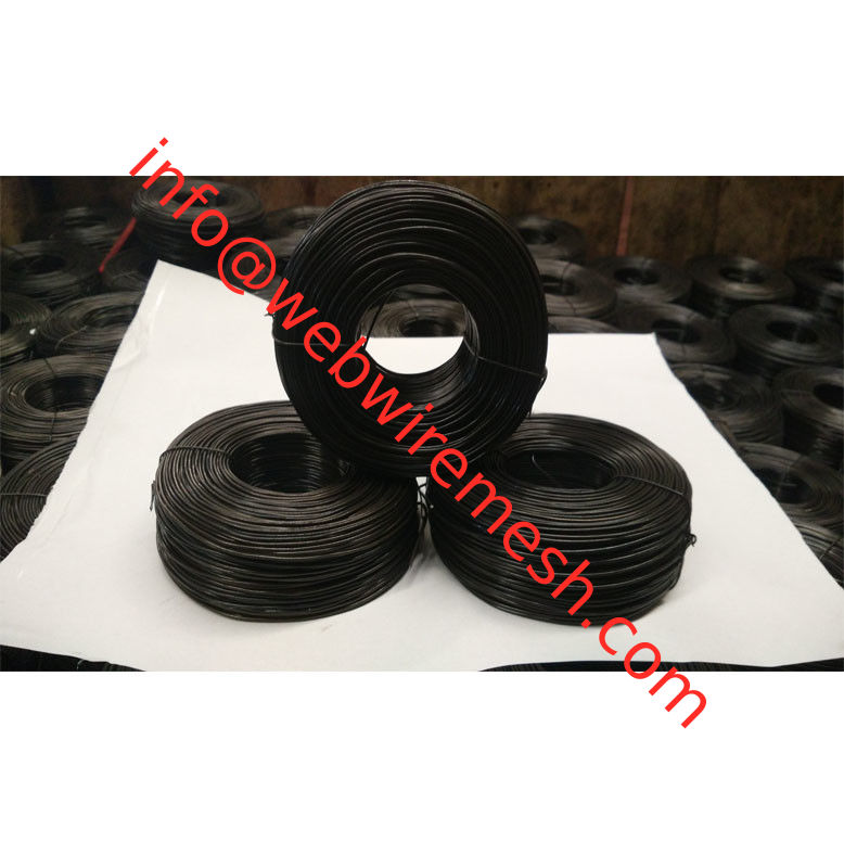 16Gauge x 3-1/2lbs China Exporter Black Annealed Rebar Tie Wire supplier